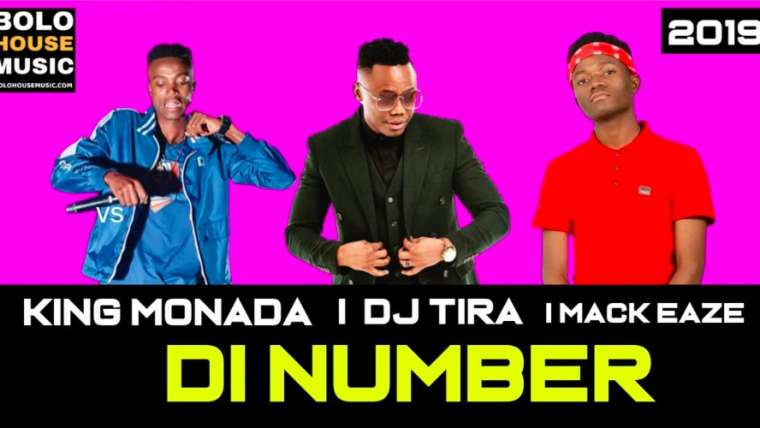 Di number phone King Monada ft DJ Tira x Mack Eaze