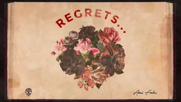Regrets Song Lyrics by Zoocci Coke Dope and Ami Faku